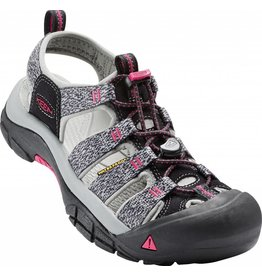 Keen Keen Womens Newport H2 Black Bright Rose