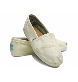 Toms Toms Womens Classic Natural Canvas