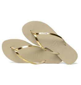 Havaianas Havaianas Womens You Metallic Sand Grey Light Gold