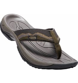 Keen Keen Mens Kona Flip II Dark Olive Antique Bronze