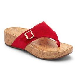 Vionic Vionic Womens Marbella Platform Sandal Red