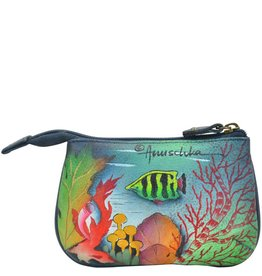 Anuschka Anuschka Medium Coin Purse Ocean Treasures 1107-OCT
