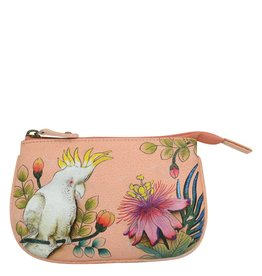 Anuschka Anuschka Medium Coin Purse Cockatoo Sunrise 1107-CKT