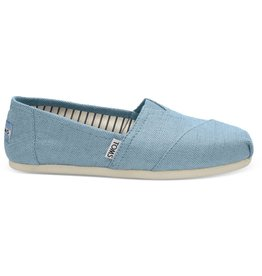 Toms Toms Womens Classic Marine Blue Heritage Canvas