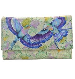 Anuschka Anuschka Check Book Wallet Clutch Wings Of Hope 1042-WHP