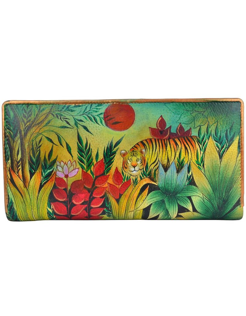 Anuschka Anuschka Clutch Wallet Rousseau's Jungle Ladies 1088-RSJ