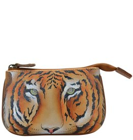 Anuschka Anuschka Medium Coin Purse Wild Tiger 1107-WTG