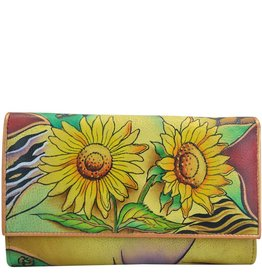 Anuschka Anuschka MultiPockets Wallet Sunflower Safari 1043-SFS