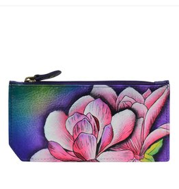 Anuschka Anuschka RFID Blocking Card Case With Coin Pouch Magnolia Melody 1140-MGM