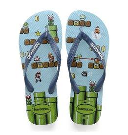 Havaianas Havaianas Mens Mario Bros Sandal Blue Splash