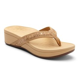 Vionic Vionic Womens High Tide Gold Cork