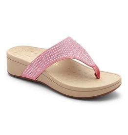 Vionic Vionic Womens Naples Platform Sandal Blush