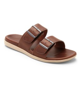 Vionic Vionic Mens Charlie Slide Brown