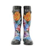 Anuschka Anuschka Womens Rain Boots Vintage Bouquet 3200-VBQ