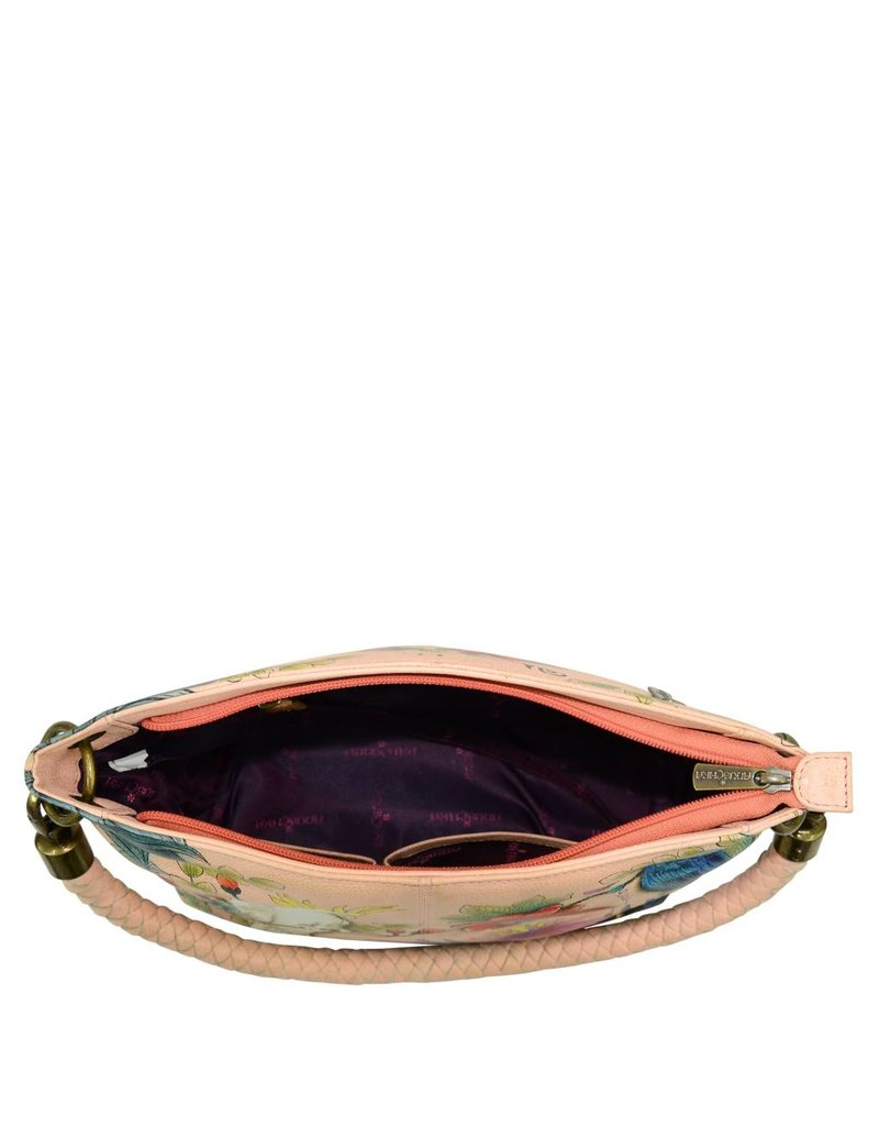 Anuschka Anuschka Medium Shoulder Bag Cockatoo Sunrise 634-CKT