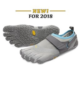 Vibram Five Fingers Vibram FiveFingers Womens V-Aqua Grey Blue
