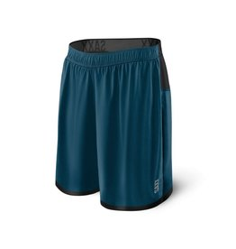 Saxx Saxx Mens Pilot 2N1 Shorts Velvet Blue Heather
