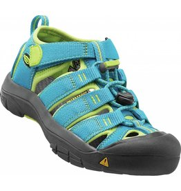 Keen Keen Youth Newport Hawaiian Blue Green Glow