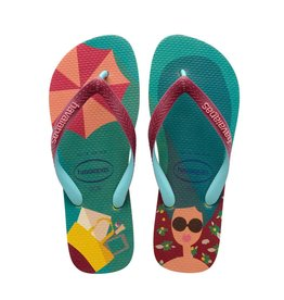 Havaianas Havaianas Womens Top Fashion Petroleum