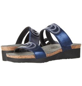 Naot Naot Womens Ainsley Polar Sea Blue Silver Rivets