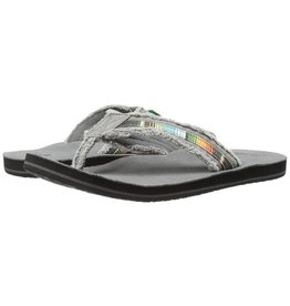 Sanuk Sanuk Mens Fraid So Charcoal Multi