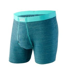 Saxx Saxx Mens Ultra Tri Blend Boxer With Fly Forest Heather