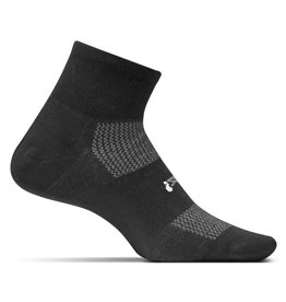 Feetures Feetures High Performance Cushion Quarter Black