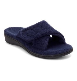 Vionic Vionic Womens Relax Slipper Navy