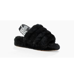 UGG UGG Womens Fluff Yeah Slide Black