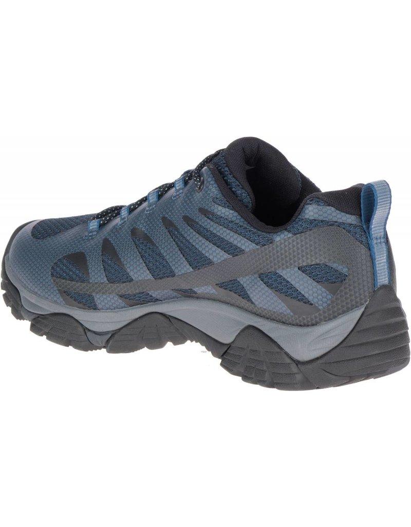 7eb1363fdcb Merrell Mens Moab Edge 2 Navy - Island Comfort Footwear
