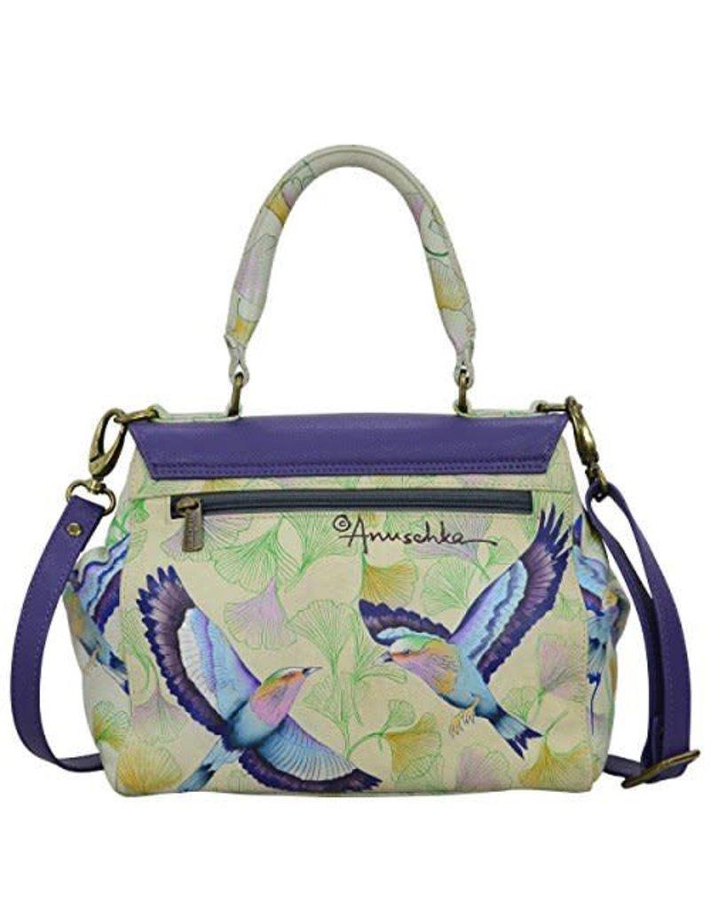Anuschka Anuschka Medium Flap Satchel Wings of Hope  624-WHP