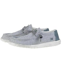 Hey Dude Hey Dude Mens Wally Woven Grey White