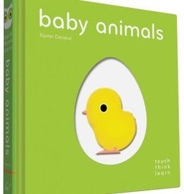 book touch think learn: baby animals