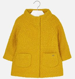 girl mayoral boucle coat