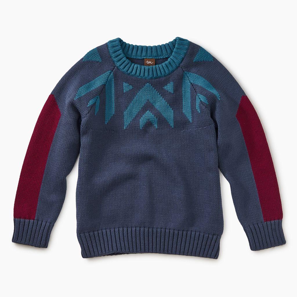 master denali crewneck sweater
