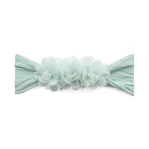 hair baby bling chiffon flower headband