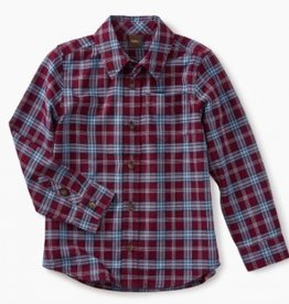 master lakeshore plaid button shirt