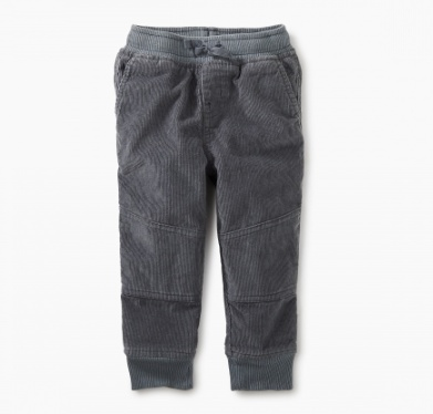 master lined corduroy baby jogger