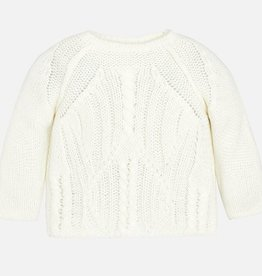 girl mayoral cable knit sweater