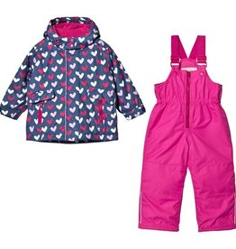 kid hatley snow suit set