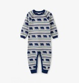 little boy hatley sweater romper