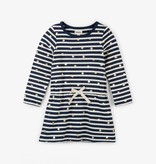 girl hatley starry stripes french terry dress