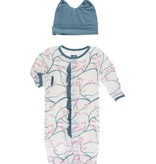 baby kickee pants converter gown + hat set (more colors)