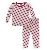 kid kickee pants print pajama set (more colors)