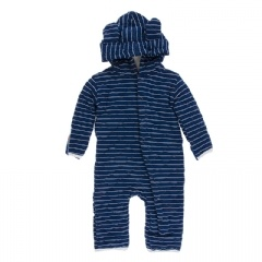 baby kickee pants quilted hoodie coverall (more colors)