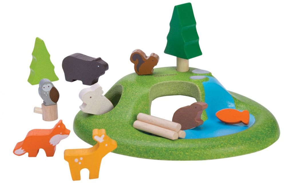playtime plantoys planworld animal set 3y+