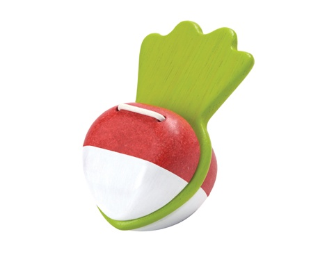playtime plantoys beetroot clapper 12m+