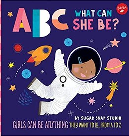 book abc what can she be?