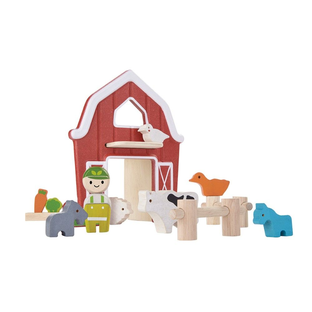 playtime plantoys planworld farm set 3y+