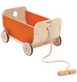 playtime plan toys orange wagon